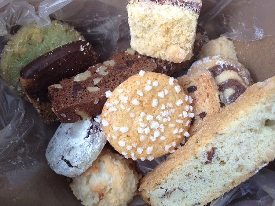 Various tea cookies from Nora's Patisserie. - TAMARA PALMER