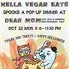 Vegan Big Mac, Space Veggies, and Happy Hellaween!