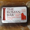 Vegan Eats: The Roman Bar's Chocolate-Dipped Honey-Peach Apricot Fruit Bar