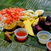 House of Sisig: Banana Leaves, Salted Eggs, and Rice-Covered Fingers