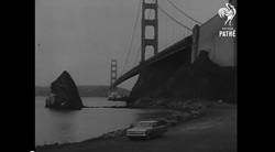 Road beneath the Golden Gate Bridge, circa 1963 - YOUTUBE/BRITISH PATHE