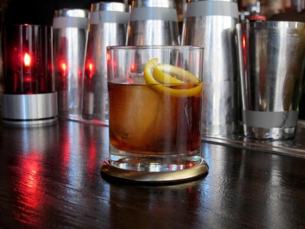 Vieux Carré Me Away cocktail - LOU BUSTAMANTE
