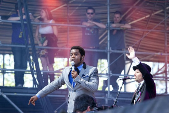 Vintage Trouble performing at Bottle Rock Napa Valley