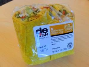 Walgreens' Southwest chicken wrap.