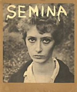Wallace Berman's Wife, from 1959's - Semina 4, part of Semina - Culture: A - Tribute to the Life and Work of Wallace - Berman.