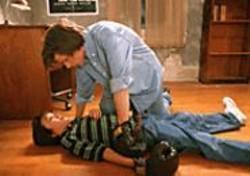 RICHARD  FOREMAN - Walt (Jesse Eisenberg, top) and Frank (Owen Kline) - battle from opposite sides of the family divide.