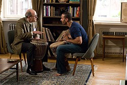 OVERTURE FILMS - Walter (Richard Jenkins), a New York economics professor, learns the African drum from Tarek (Haaz Sleiman), a young Syrian who is his unexpected houseguest.