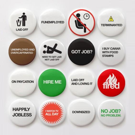 Wanna wear your job status on your sleeve?