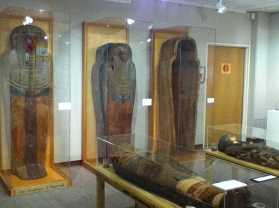 Want see a mummy in person? Go back to school to see this one. - JUAN DE ANDA/ SF WEEKLY