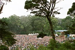 KEN FRIEDMAN - Warren Hellman's Hardly Strictly Bluegrass drew an estimated 750,000 people to Golden Gate Park last year.