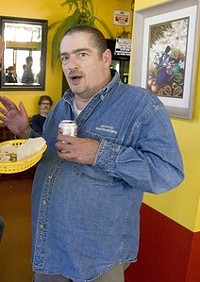 Was hoping to see Scott's wiener - LUKE THOMAS, FOG CITY JOURNAL