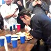 Watch a Professional Eater Down a Pizza in Less Than a Minute