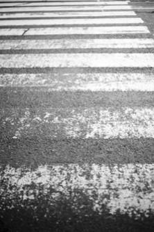 Watch for pedestrians. Please.