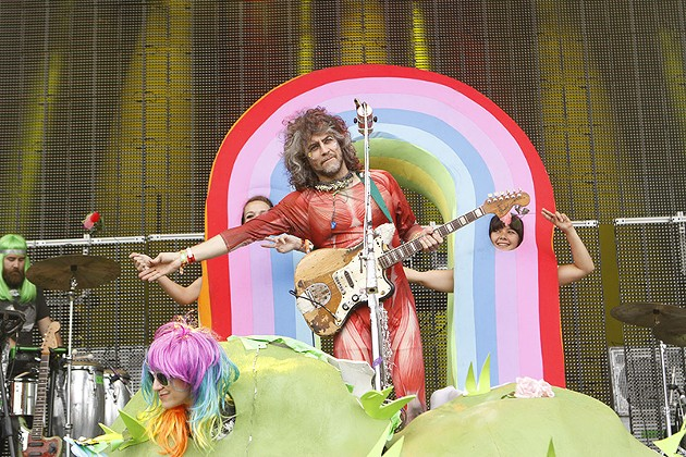 Wayne Coyne of The Flaming Lips - CHRISTOPHER VICTORIO