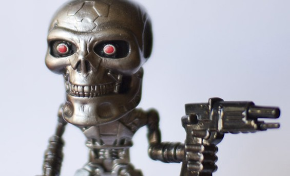 We, for one, welcome our new robot overlords. - GAUDIRAMONE/FLICKR