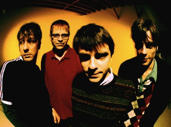 Weezer in 1996: Young and -- crucially -- dumb.