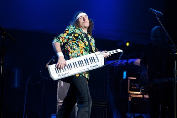 """Weird"" Al Yankovic at the Fox Theater on Sunday. - JAMIE SOJA"