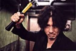 Welcome to Fight Club: Former sad sack - turned vicious revenge-seeker Oh Dae-su - (Choi Min-sik).