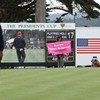 President Didn't Show For President's Cup -- But Code Pink Did