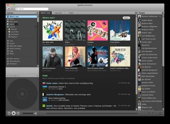 What Spotify looks like
