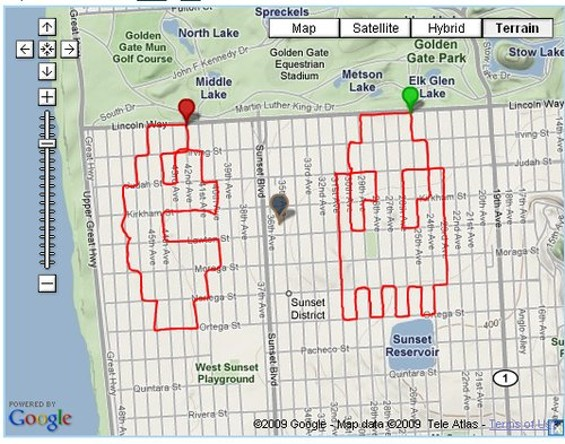 When in the Outer Sunset, don't fail to bike 'Pac Man and Blinky' - VICENTE MONTELONGO