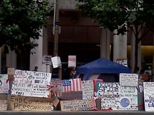 When Occupy was clean(er)