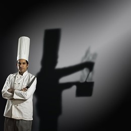 While you dream of murder, your shadow just wants to make a nice bouillabaisse.