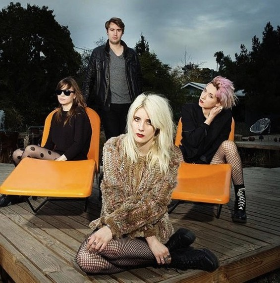 White Lung performs tonight at Rickshaw Stop.
