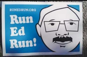 Who the hell is running Run, Ed, Run?