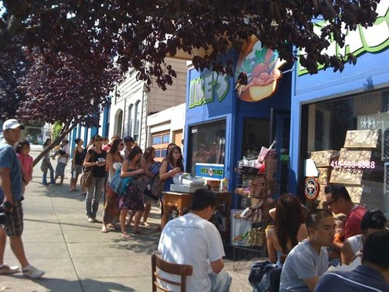 Why did the city allow Ike's to operate for so long without the proper permit? - SUNNY K./YELP
