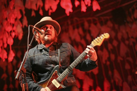 Wilco at the Greek Theatre on Friday - CHRISTOPHER VICTORIO