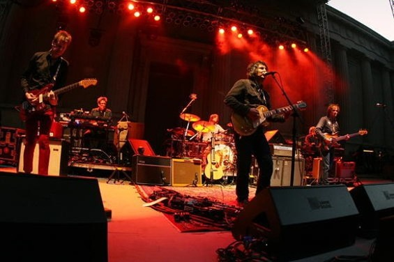 Wilco playing the Greek Theatre in Berkeley, June 27, 2009 - CHRISTOPHER VICTORIO