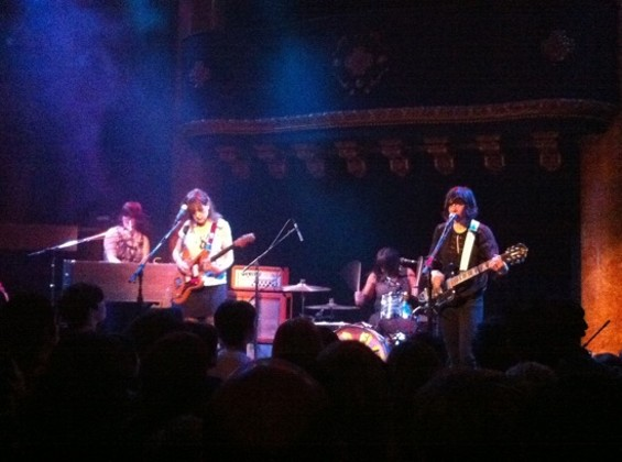 Wild Flag at Great American Music Hall on Friday.