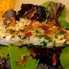 Wild Halibut Steaks with Warm Bacon Dressing