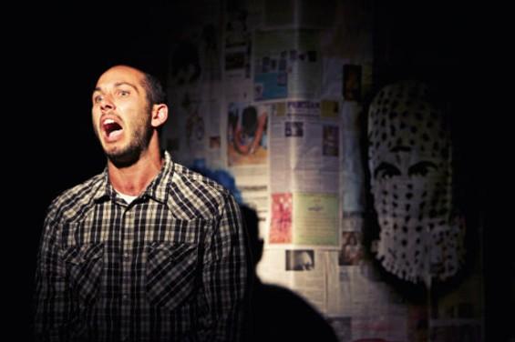 Wiley Naman Strasser gives a fierce star turn in Crowded Fire's West Coast premiere. - PAK HAN