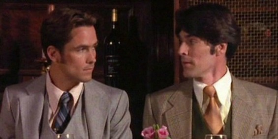 William Campbell  (left) as Dr. Jon Philip Fielding, the first literary character to die of AIDS. - PBS