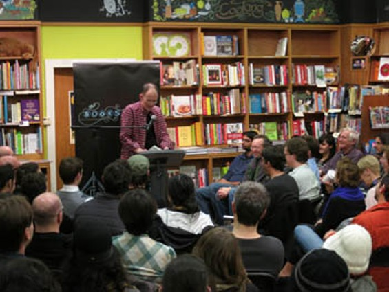 William Gibson loves bookstores, we should too! - MIKE MCCAFFREY