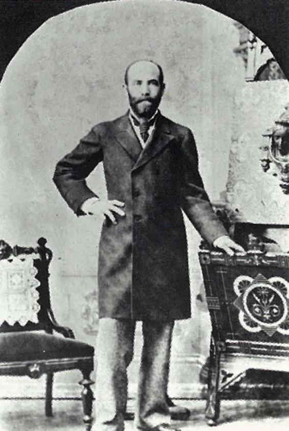 William Haas, a Jewish immigrant from Bravaria
