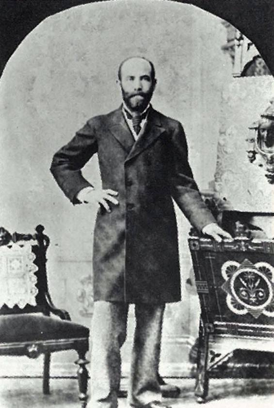 William Haas, a Jewish immigrant from Bravaria