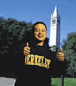 William Hung: All thumbs and proud of it.