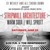 Win Tickets to See Stripmall Architecture, Warm Soda, and Will Sprott at the Indy This Saturday