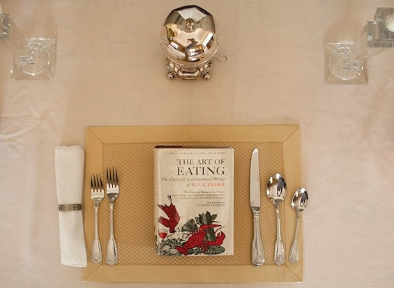 THE ART OF EATING PLACE SETTING