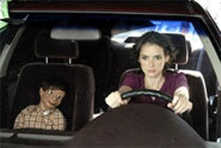 THINK FILMS - Winona Ryder and co-star in a scene from The Ten.