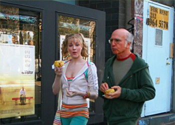 Not even the great Larry David can salvage Woody Allen's shtick in <i>Whatever Works</i>