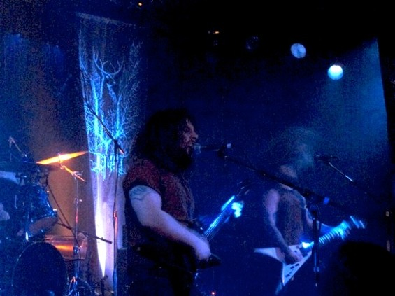 Wolves in the Throne Room at Slim's last night.