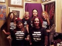 NINAH  PIXIE - Women Making Noise (left to right): Maggi Payne, Melissa Margolis, A.L. Dentel, CJ Reaven Borosque, Ninah Pixie, and Cheryl E. Leonard.