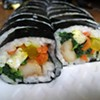 Kimbap at Woo Ri and First Korean Markets