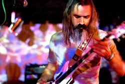 IAN S. PORT - Wooden Shjips: one of several psychedelic-leaning Bay Area rock bands to find a home on Thrill Jockey.
