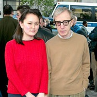 "The 20 Worst Fathers in History Woody Allen: Describing his relationship to Soon-Yi, Allen has said: ""It's got a more paternal feeling to it."" What a profound insight! If only there were some possible explanation for why that is! Bad dad, Woody. Bad, bad dad."