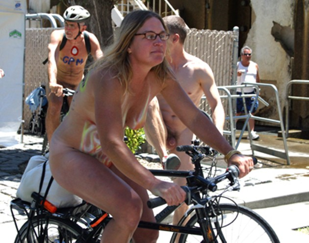 World Naked Bike Ride on 6/7